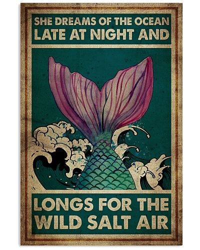 Poster Mermaid longs for the