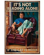 Poster Book the cat is home 24x36 Poster front