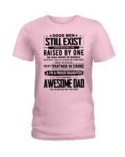 march Awesome Dad Ladies T-Shirt thumbnail