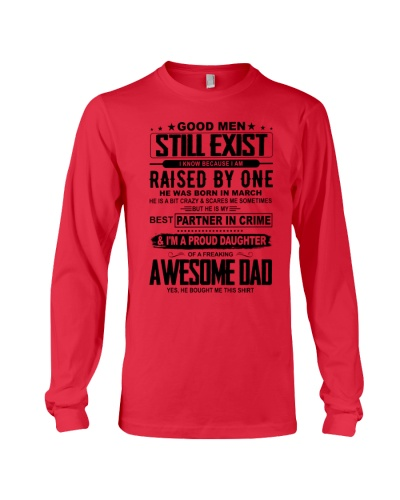 march Awesome Dad