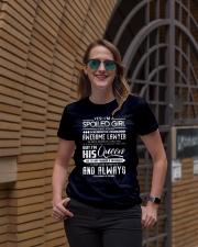 january Lawyer girl Ladies T-Shirt lifestyle-women-crewneck-front-2