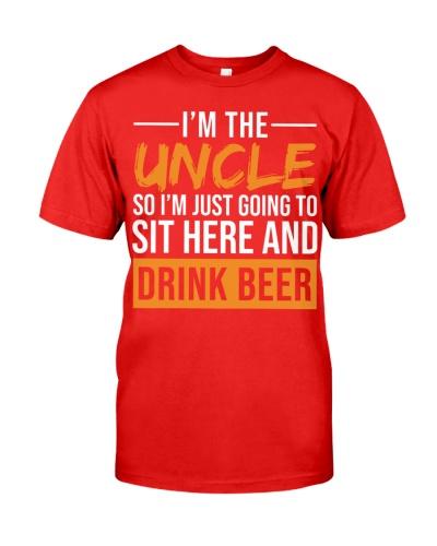 Uncle-Drink beer