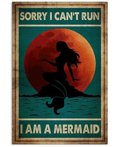 Poster Mermaid sorry i cant run