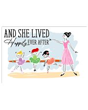 Poster Ballet and she lives happily 36x24 Poster front