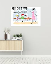Poster Ballet and she lives happily 36x24 Poster poster-landscape-36x24-lifestyle-01
