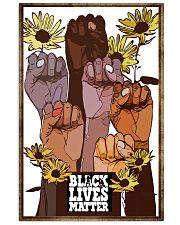 Poster black queen lives matter 24x36 Poster front