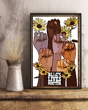 Poster black queen lives matter 24x36 Poster lifestyle-poster-3