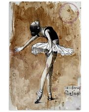 Poster Ballet and music 24x36 Poster front