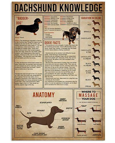 poster dachshund