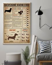 poster dachshund 24x36 Poster lifestyle-poster-1