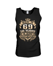 Made in 69-50 years Unisex Tank thumbnail