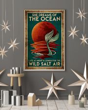 Poster Mermaid wild salt air 24x36 Poster lifestyle-holiday-poster-1