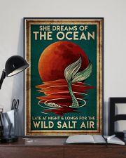 Poster Mermaid wild salt air 24x36 Poster lifestyle-poster-2