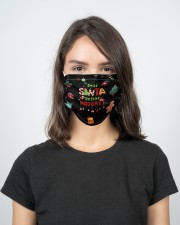 2 Layer Face Mask Christmas Dear Santa 2 Layer Face Mask - Single aos-face-mask-2-layers-lifestyle-front-17