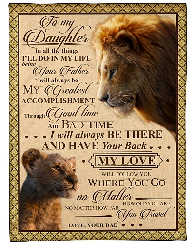 blanket to daughter in all
