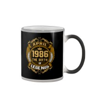 Abril 1986 The Birth of Legends Color Changing Mug thumbnail