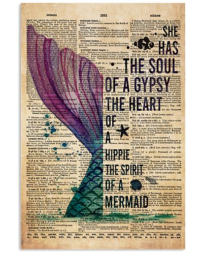 Poster Mermaid the heart