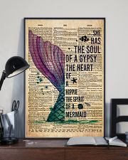Poster Mermaid the heart 24x36 Poster lifestyle-poster-2