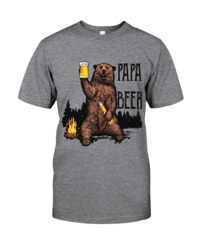 camping papa beer
