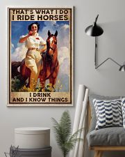 Poster horse i drink 24x36 Poster lifestyle-poster-1