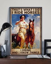 Poster horse i drink 24x36 Poster lifestyle-poster-2