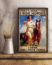 Poster horse i drink 24x36 Poster lifestyle-poster-3