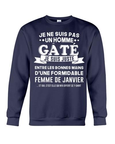 Janvier Une homme Gate