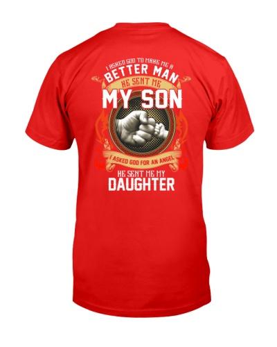 Better man he sent me my son