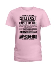 November Awesome Dad Ladies T-Shirt front