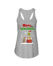 christmas merry 2 Ladies Flowy Tank thumbnail