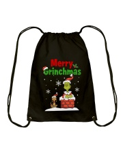 christmas merry 2 Drawstring Bag thumbnail