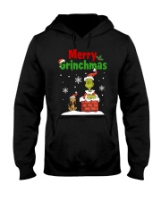 christmas merry 2 Hooded Sweatshirt thumbnail