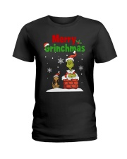 christmas merry 2 Ladies T-Shirt front