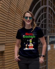 christmas merry 2 Ladies T-Shirt lifestyle-women-crewneck-front-2