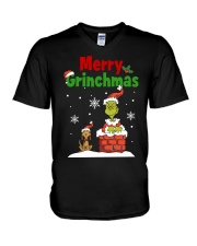 christmas merry 2 V-Neck T-Shirt thumbnail