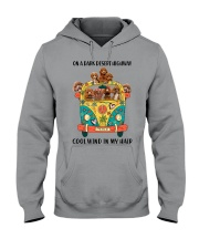 Poodle cool wind Hooded Sweatshirt thumbnail