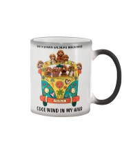Poodle cool wind Color Changing Mug thumbnail