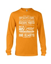 June Painter girl Long Sleeve Tee tile