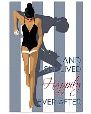 Poster Book and she lived happily 24x36 Poster front