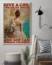 Poster Ballet give a girl true shoes 24x36 Poster lifestyle-poster-1