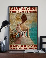 Poster Ballet give a girl true shoes 24x36 Poster lifestyle-poster-2