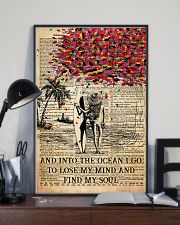 Poster Mermaid find my soul 24x36 Poster lifestyle-poster-2