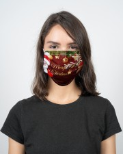 2 Layer Face Mask Christmas Merry Xmas 2 Layer Face Mask - Single aos-face-mask-2-layers-lifestyle-front-17