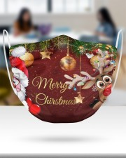 2 Layer Face Mask Christmas Merry Xmas 2 Layer Face Mask - Single aos-face-mask-2-layers-lifestyle-front-30