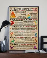 Poster Yoga 10 health 24x36 Poster lifestyle-poster-2