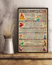 Poster Yoga 10 health 24x36 Poster lifestyle-poster-3