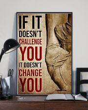Poster Ballet doesnt change you 24x36 Poster lifestyle-poster-2