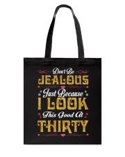 30-Don't Be Jealous Tote Bag tile