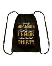 30-Don't Be Jealous Drawstring Bag tile