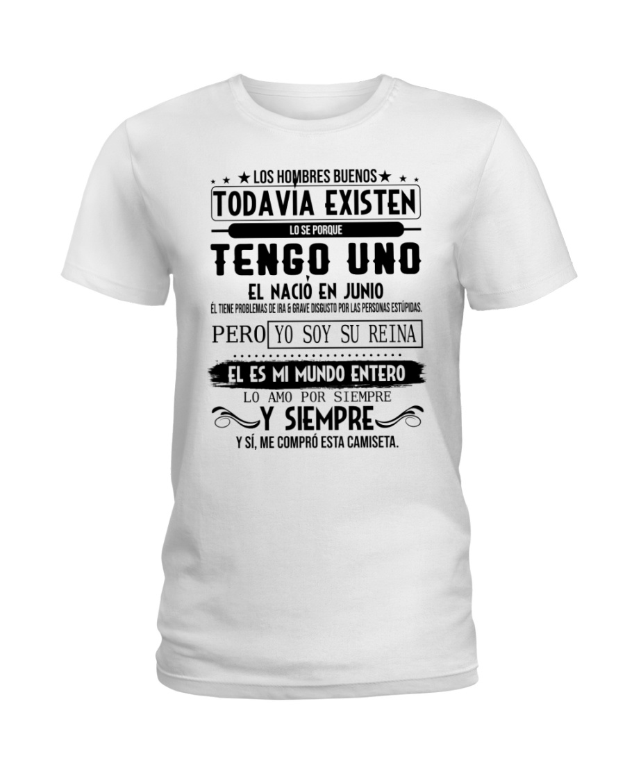 Junio -existen Ladies T-Shirt